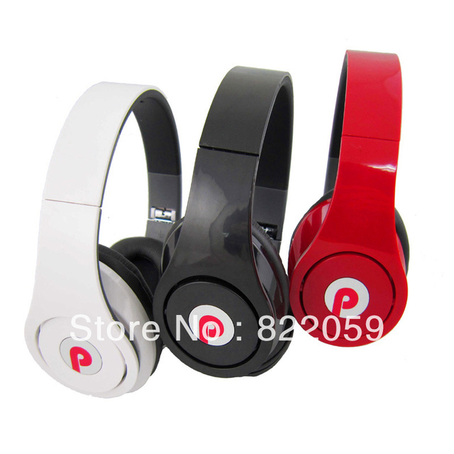 Free Shipping PangPai PP-015 DJ Headphones with Mic for Computer Music MP3/4 Game Super-bass Headsets Headband Stereo Earphones