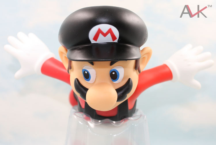 Free Shipping  anime Original edition super mario 24CM Flying Mario  Wholesale action figures<br><br>Aliexpress