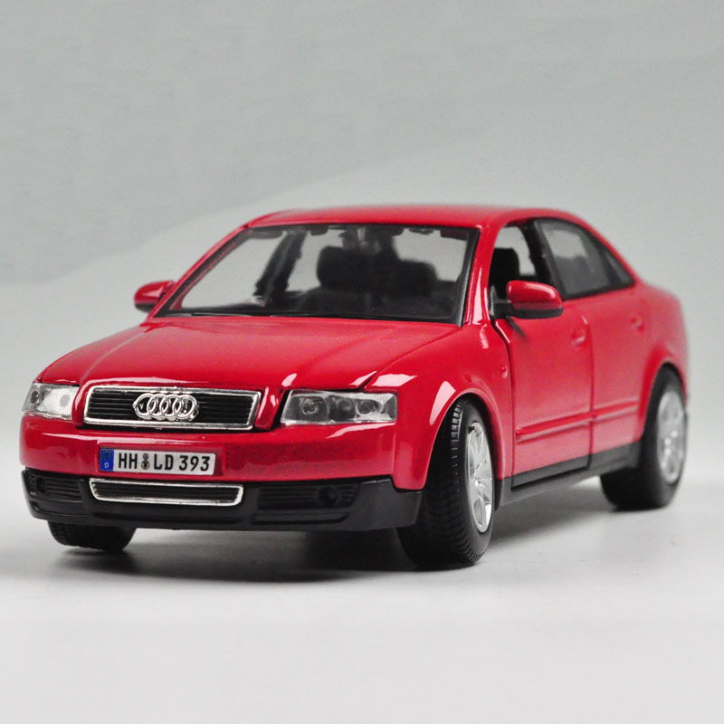 Maisto 1/24 Scale Car Model Toys New 1:24 AUDI A4 Alloy Diecast Car Model Toy With Box Black For Collection/Gift(China (Mainland))