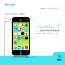 Tempered Glass Screen Protector FOR Apple Iphone 5C NILLKIN Amazing H+ 9H 2.5D 0.2MM Nanometer Anti-Explosion Protective Film