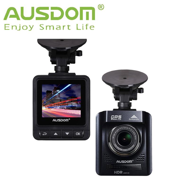 """Car DVR GPS AUSDOM A261 HD Dash Cam 2"""" View screen Dashboard Video Camera Recorder Car Black box + G-Sensor for Auto-Recording(China (Mainland))"""