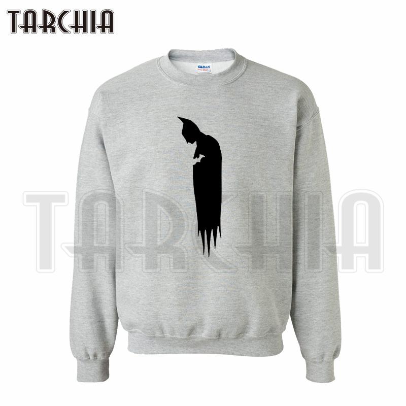 TARCHIA 2016 European Style fashion casual Parental Super Hero lonely Batman font b hoodies b font