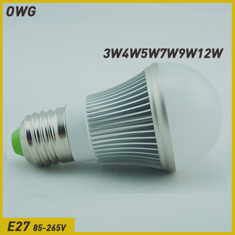 ()led bulb e27 3W 5W 7W 9W 12W 5730 SMD LED Bulb Light LampEnergy Saving Led Lamps - ZEROGEM Lighting Co., LTD store