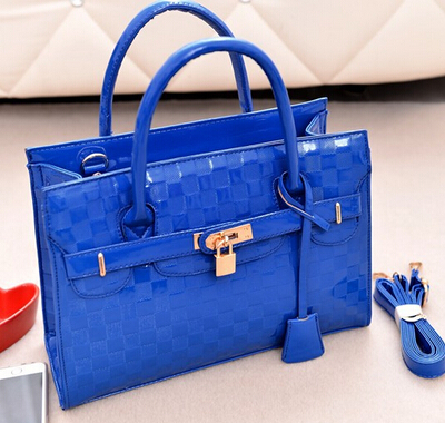 2015 Fashion Brand Women's Tote Handbags Classical Top PU Leather Lady's Office bag famous brands Women shoulder - Fujian Hengsheng Co., Ltd store