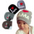 Newborn baby Hats Cotton boys Hats Kids Beanie Photography Props Baby Costumes Knitted I LOVE DAD/MOM Baby Caps for girls