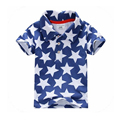 Hot Sale High Quality Summer Baby Boys Clothes Short Sleeve Kids T shirt Boys Shirt 100