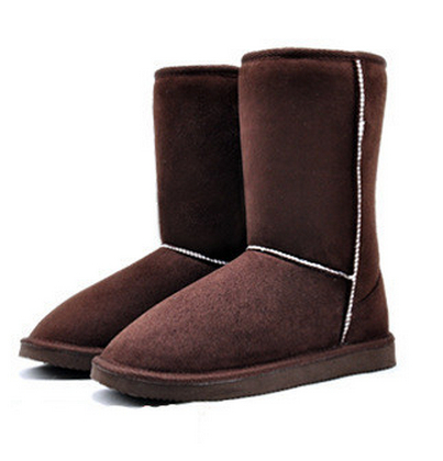 New 2015 Women Winter Snow Boots Women 6 Solid Colors Warm Cotton Winter Boots Shoes Euro Size Drop Shipping XWX273(China (Mainland))