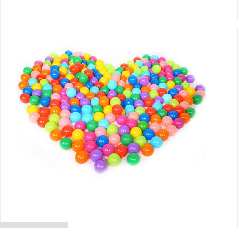 20pcs/lot 2015 HOT New Eco-Friendly Beauty Plastic Ocean Ball Pool Color Mixing Soft Round Balls Ball Pool For Kids Funny(China (Mainland))