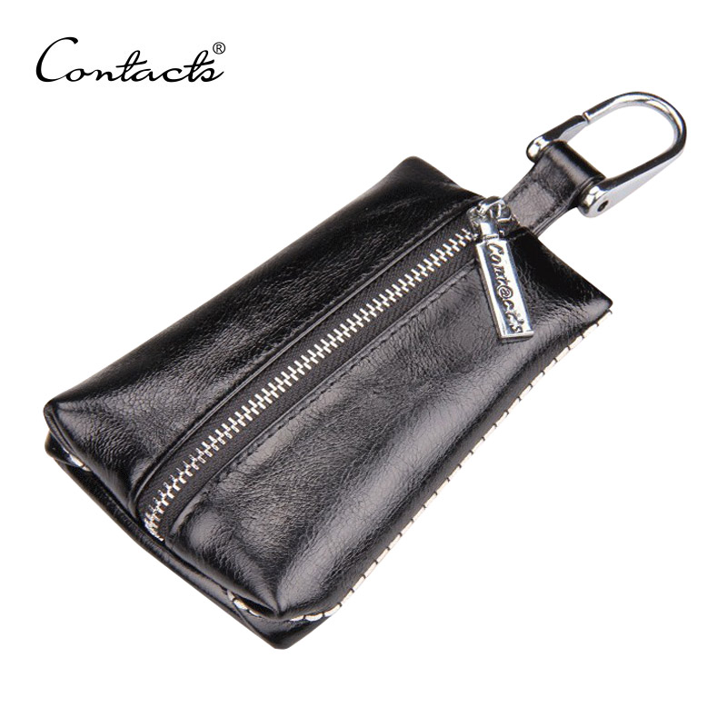 2016 New Arrival Women's Genuine Cow Leather Wallets Car Key Holder Fashion Men Housekeeper Holders Carteira C1070 Free Shipping(China (Mainland))