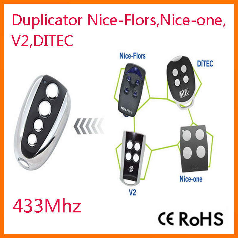 Popular ports codes buy cheap ports codes lots from china for Telecommande porte de garage nice flor s