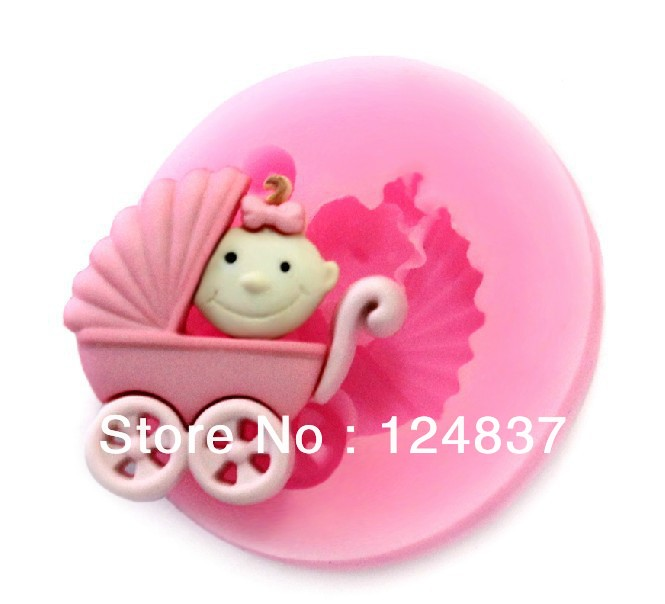 3D Mini car shape Silicone soap mold baby mould party ...