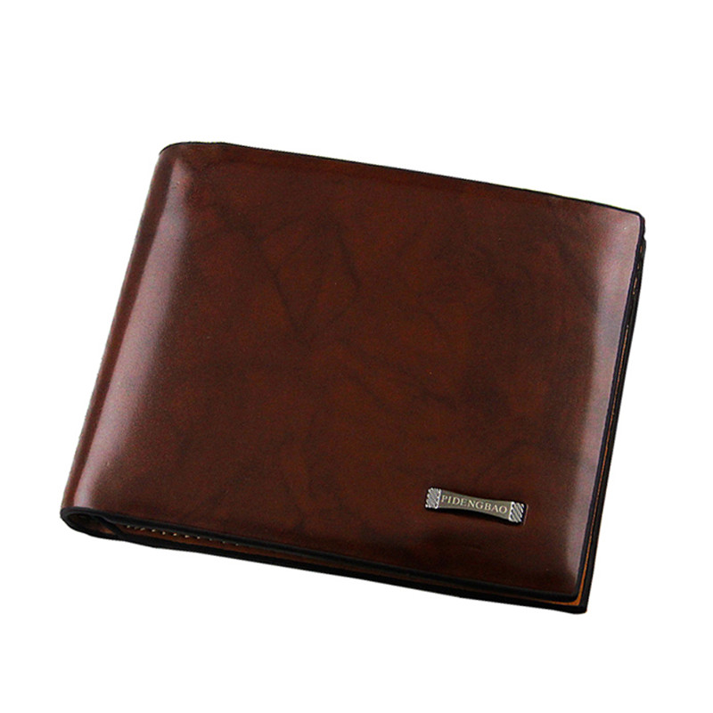 Classical Hot Fashion Men Wallets Red Brown Pattern PU Leather Quality Credit Card Holders Style Wallets For Men #04<br><br>Aliexpress