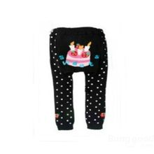 New Hot sale discount Cute Cartoon Animal Style Baby Kids Cotton Leggings PP Pants Series C promotion free shipping(China (Mainland))