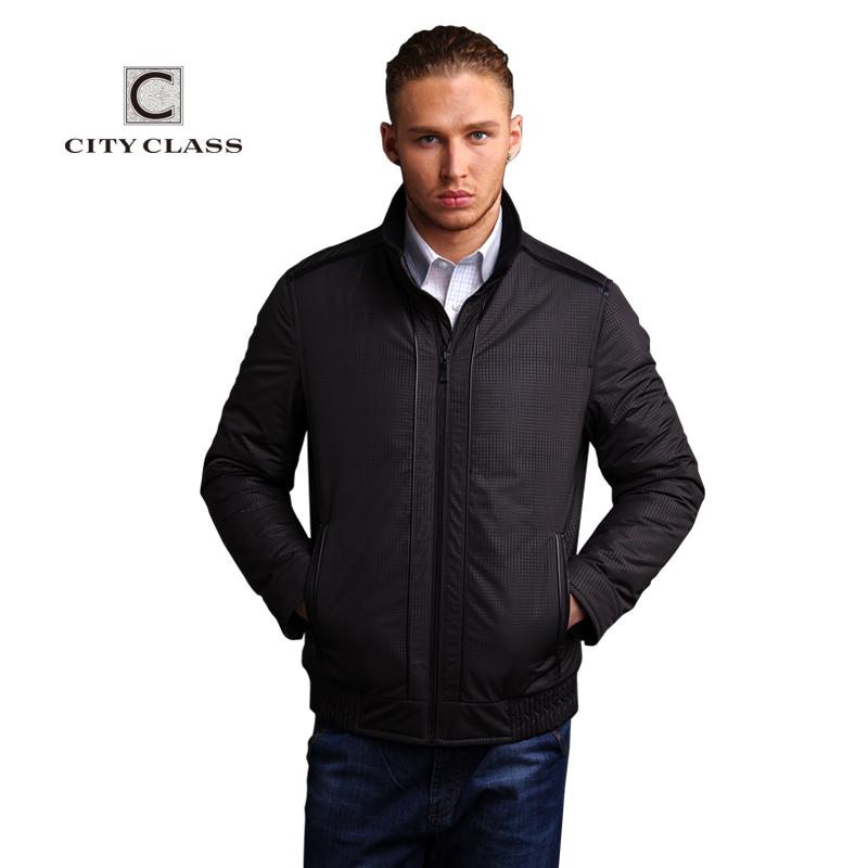 New men fashion casual stand collar short cotton jacket free shipping