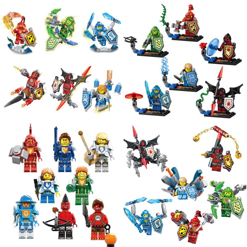 Nexo Knights Future Castle Warrior Ulimate Axl Marvel Building Blocks Kits Toys Minifigures Compatible Legoe Nexus - A+ store
