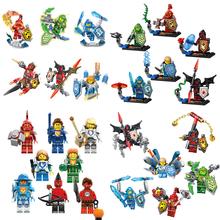 6pcs/lot Nexo Knights Future Castle Warrior Ulimate Marvel Building Blocks Kits Toys Minifigures Compatible Legoe Nexus(China (Mainland))