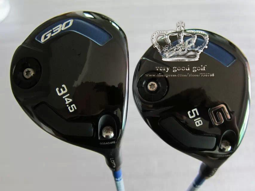 G30 Fairway Wood Set Golf Clubs #3/#5 Regular Stiff-Flex Graphite Shaft Come Headcover G 30Fairway