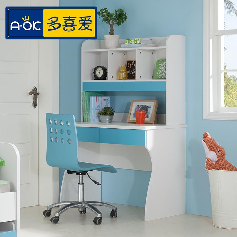 Children's furniture combination bookcase desk study tables for children small desk with storage Computer Desks(China (Mainland))