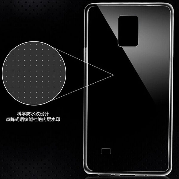 Note 4 Ultra Thin Transparent Clear Soft TPU Gel Phone Cases for Samsung Galaxy Note 4 slim Protective Mobile Phone bags cases(Hong Kong)