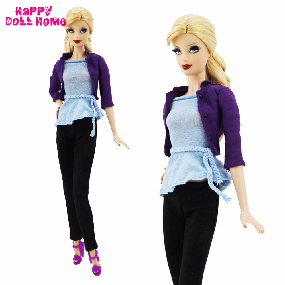 Handmade Dairy Outfit Swimsuit Knitted Informal Elegant Concise Put on Excessive High quality Pant Costume Shoe For Barbie Doll Garments Lady Reward