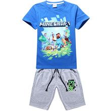 2016 summer style Boys T-shirts Patrol dog T-shirt short sleeve cartoon t shirt kids clothes boys brand clothes sets(China (Mainland))