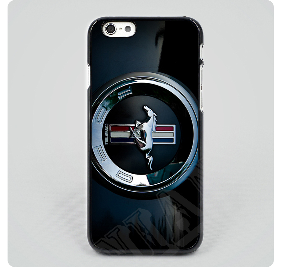 Cool Unique Ford Mustang Car Logo black hard skin mobile phone cases cover housing for iPhone 6 6 plus 5 5s 5c 4 4s(China (Mainland))