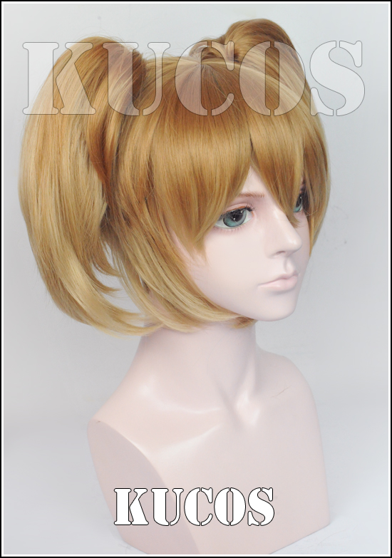 Sword Art Online Silica Cosplay Cute Anime Bunches Wig<br><br>Aliexpress