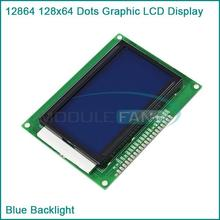 Buy 2pcs New 12864 128x64 Dots Graphic LCD Display Module Blue Backlight for $12.30 in AliExpress store