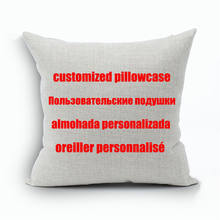 Custom Designs Linen Pillow Cover Print With Your Pictures Texts Designs Photos Unique DIY Square Throw Pillowcase Cool Gift(China (Mainland))