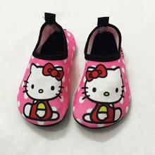 Quick Dry Children Girls Shoes Sneaker sport running Anti-slip for Swimming Pool/Beach Kids Shoes Girl Sneakers Cute Cat(China (Mainland))