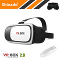 2016 Hot Sale Google Cardboard 3D Movie Glasses VR BOX II 2 0 Version Virtual Reality