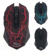 1PC 3200 DPI Wireless Optical Gaming Mouse & USB Receiver  For PC Laptop Gamer  Freeshipping