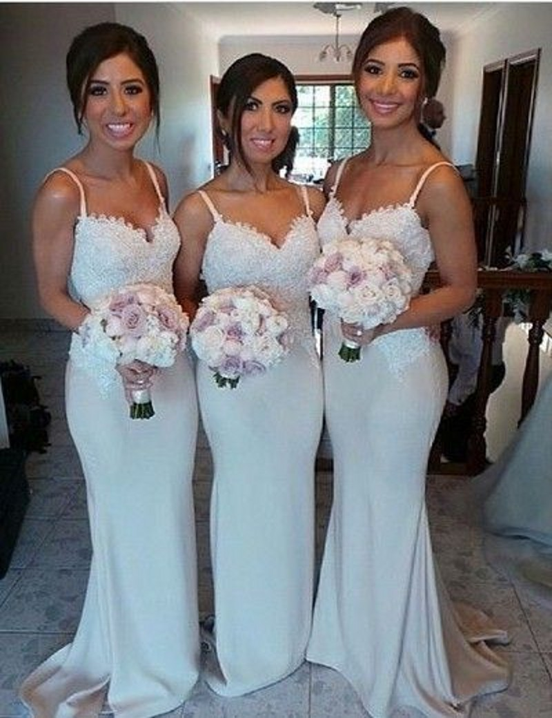 Popular navy and silver bridesmaid dresses buy cheap navy and sweetheart lace bridesmaid gown navy bluepeachivorychampagneredsilver ombrellifo Image collections