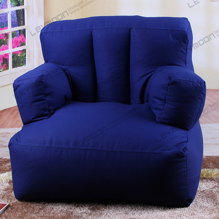 FREE SHIPPING bean bag seats bean bag cover only bean bag chair company 100% cotton canvas bean bag sofa without filling(China (Mainland))
