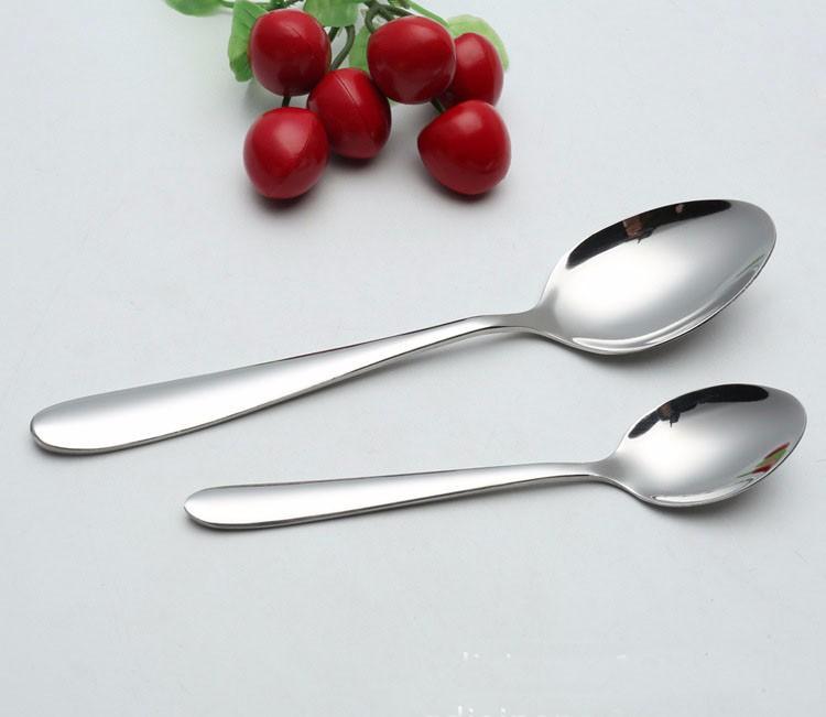 Buy Stainless Steel Fork Spoon Flatware Set, Ceramics Rose Flower Handle Fork and Spoon Toddler Flatware Set, Meals Dinner Kid Fork cheap