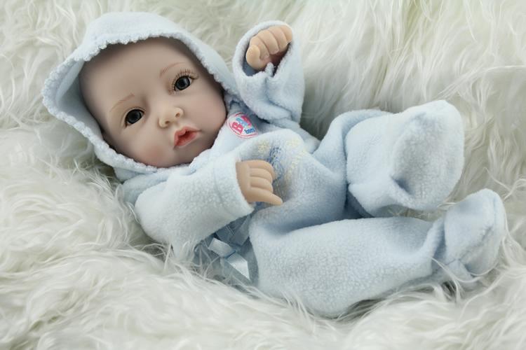 Wholesale 2015 high quality 10 inch baby dolls full silicone newborn baby girl toy little lifelike doll children birthday gift(China (Mainland))