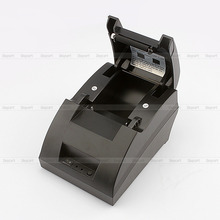 Free shipping black USB Port 58mm thermal Receipt pirnter POS printer low noise.printer thermal(China (Mainland))