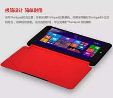 Original Stand Magnetic Leather Case Smart Cover For Lenovo thinkpad 8 8 3 Tablet Case With