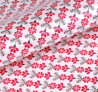 New Flower design Decorative Gift Wrapping Paper roll of different Designs Festival Gift Packing Paper Kit 10sheets 75cm*49cm(China (Mainland))