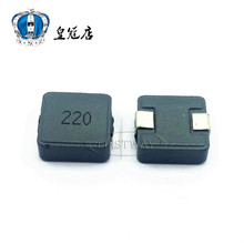 5pcs/SMD one body forming Inductor 10040 22UH 1040 4.5A word 220 large current 10*10*4MM(China (Mainland))