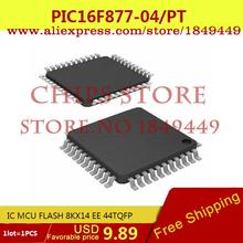 Electronic Voltage Regulator PIC16F877-04/PT IC MCU FLASH 8KX14 EE 44TQFP PIC16F877-04 16F877 PIC16F877 - Chips Store store