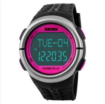 New Digital Women Sports Watches Heart Rate Monitor Pedometer Calories Counter Running for Women DZ Wristwatches montre femme(China (Mainland))