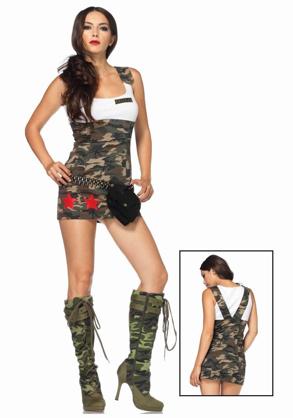 Солдатка в юбке 11 фотография