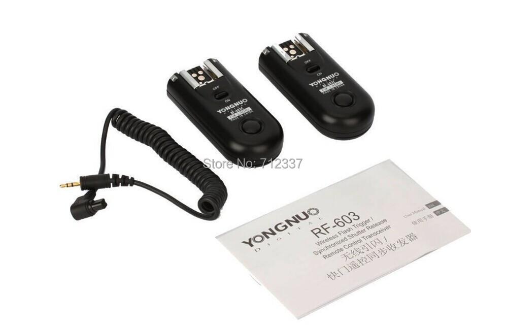 Yongnuo RF-603 II RF603 II Wireless Flash Trigger/Remote C3(China (Mainland))