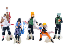 2016 NEW Hot 5PCS/set Naruto 13cm kakashi sasuke Anime Assortment Figures Set The 19th Generation Collection Model toy