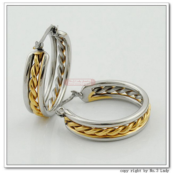 fashion stainless steel earrings wholesale free shipping