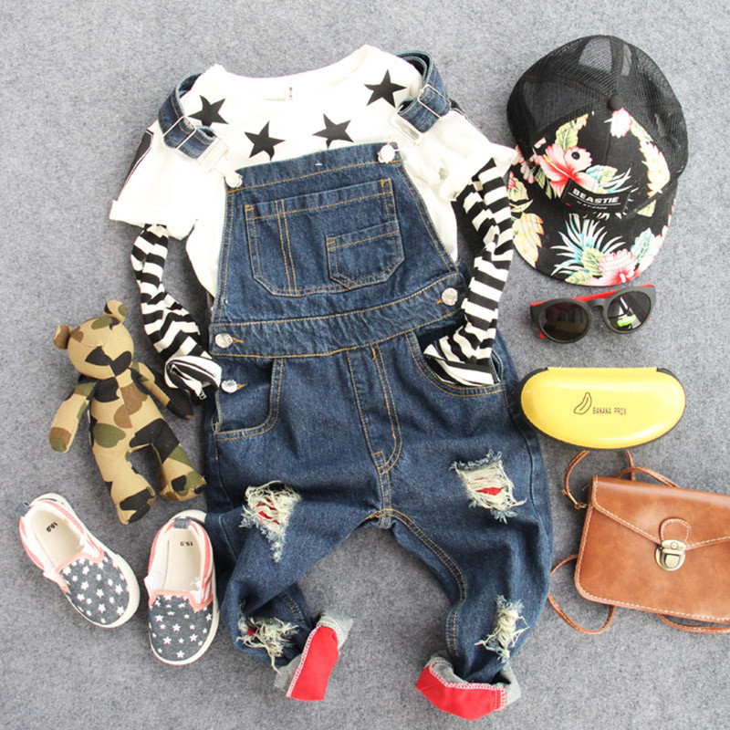 2015 autumn new style baby children's fashion jeans little boy and girl's long trousers