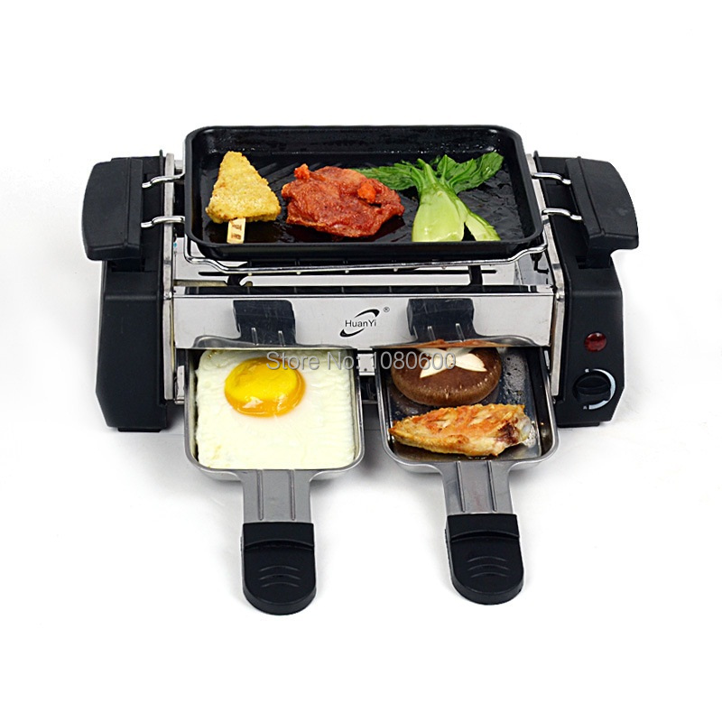 home Electric Stove/Smokeless Electric Oven Barbecue Grill BBQ Tools electric raclette grill(China (Mainland))