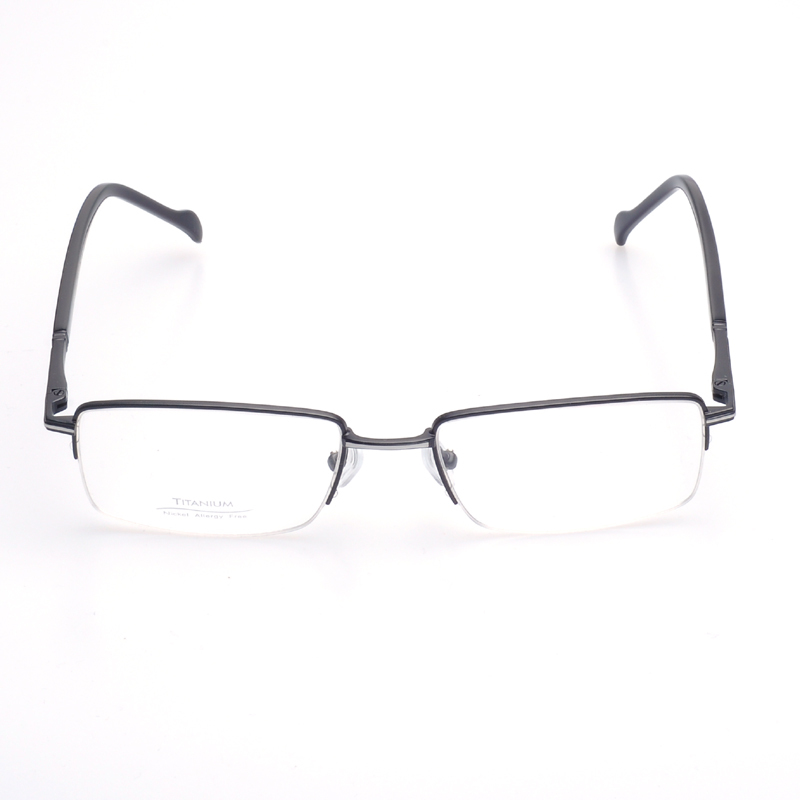 Eyeglass Frames Half Rim : Tops eyeglass frames rimless Pure Titanium Light High ...
