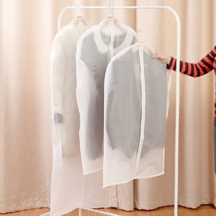 B296 thickening can be washed clothes transparent dust cover suit coat clothes dust jacket(China (Mainland))
